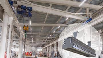 освещение производственных зданий