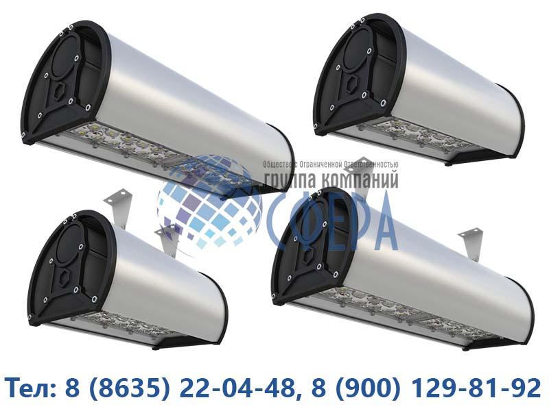 Новые промышленные и уличные светильники на официальном сайте ГК Сфера