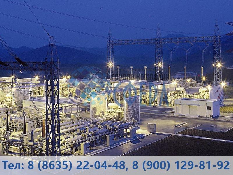 Освещение промышленных территорий - картинка от ГК Сфера