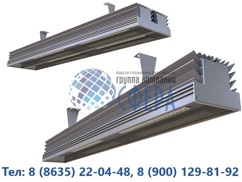 Светодиодные светильники для промышленных помещений